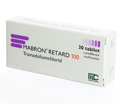 Tramadol 100 mg Brand Mabron Retard