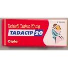 Tadacip (Generic Cialis) 20 mg