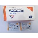 Tadalafil oral jelly 20 mg strip