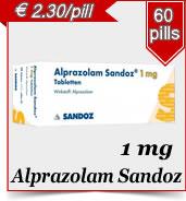 Alprazolam Sanval 1 mg