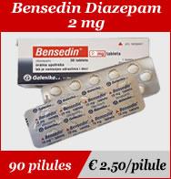 Bensedin Diazepam 2mg