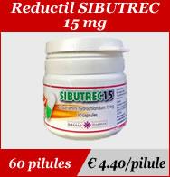 Reductil Sibutrec 15mg